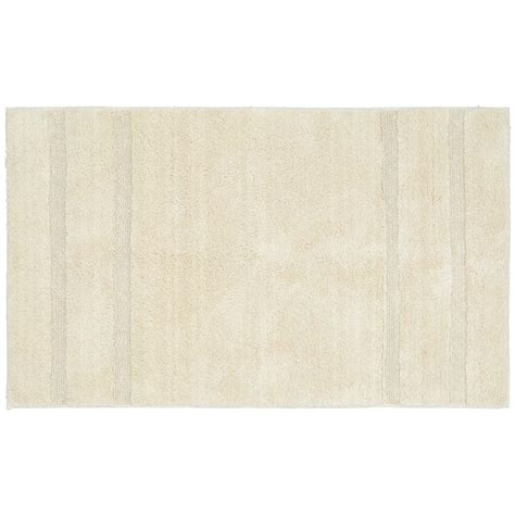 bathroom accent rugs garland rug majesty cotton natural 30 in x 50 in