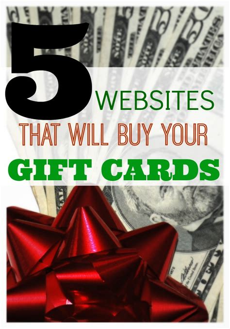 Gift Card Selling Sites - 5 websites that will buy gift cards for cash what mommy does
