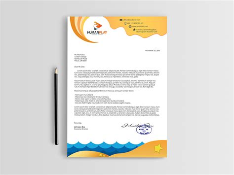 Business Letterhead Psd Template Travel Agency Letterhead Psd Template Landisher