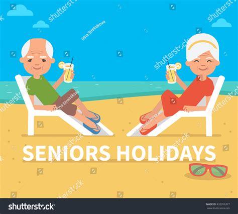 senior age senior age family on stock vector 432956377
