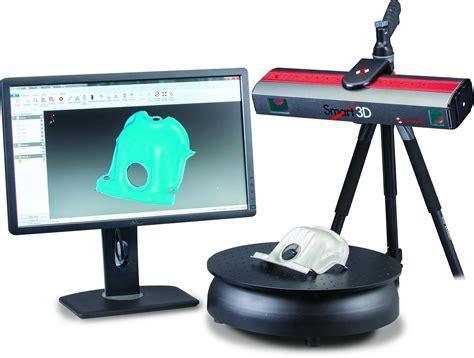 3d scanner with smart3d perceptron releases comprehensive portable 3d