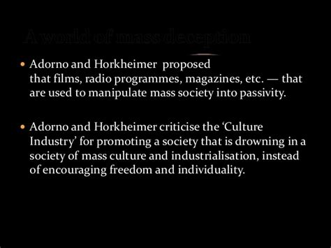 The Culture Industry Selected Essays On Mass Culture by Culture Industry For Superior