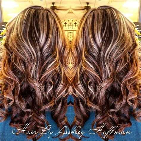 fall highlights for brown hair 17 best ideas about fall hair highlights on pinterest