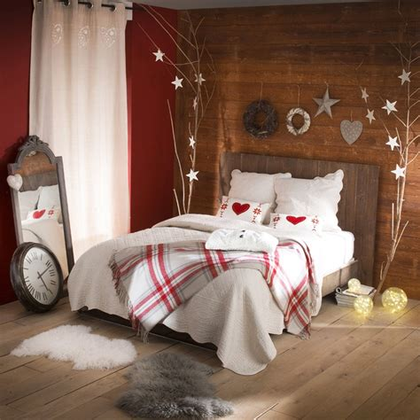 Christmas Bedroom Decorations | 32 adorable christmas bedroom d 233 cor ideas digsdigs