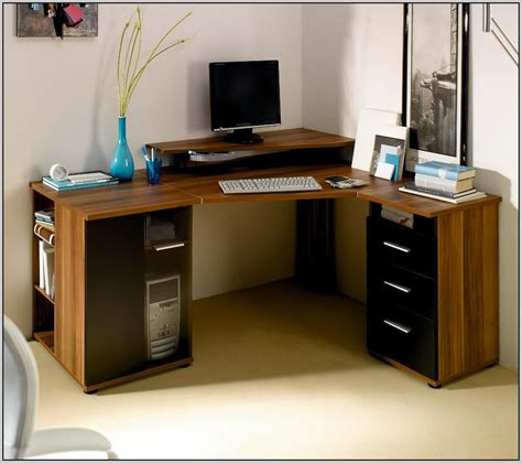 build floating corner desk page home design