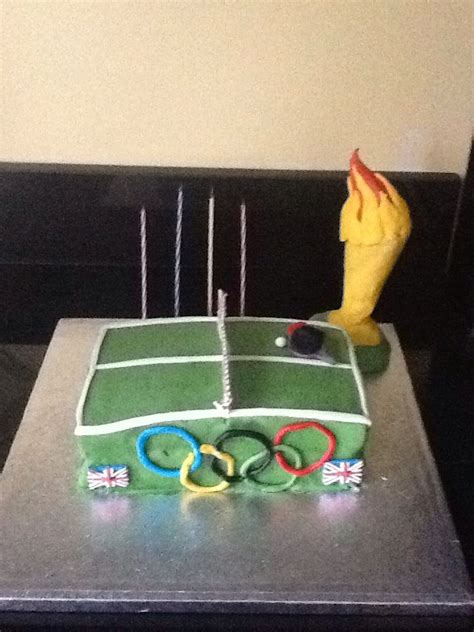20 best images about table tennis cakes on