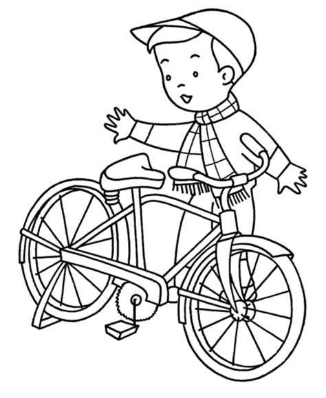 bicycle coloring pages preschool 10 kids coloring pages bicycle print color craft