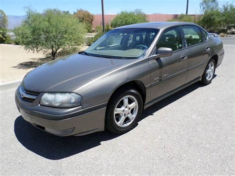 2003 chevy impala mpg 2003 chevrolet impala sedan for sale 388 used cars from 1 065