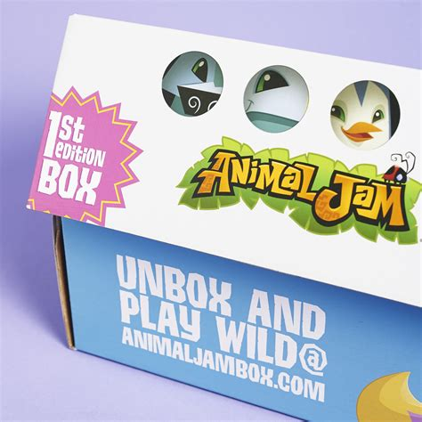 Box Jam Kw animal jam subscription box review winter 2016 my