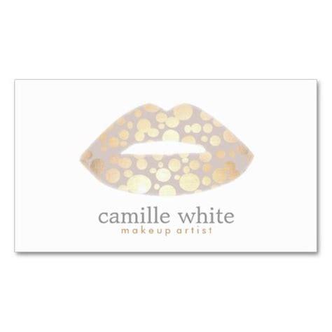 makeup business cards templates cool makeup artist gold logo salon business