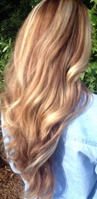 honey colored highlights honey golden warm brown caramel