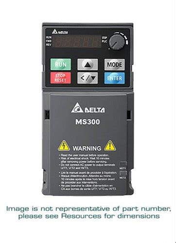 fan delta ms ac drive  industrial digital rs