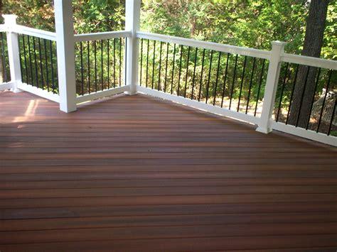 composite deck lumber composite decking with a hardwood look st louis decks