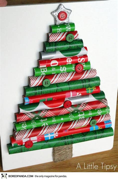 Christmas trees crafts, christmas decoration for kids, DIY.