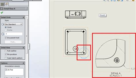 solidworks section view section drawing solidworks images
