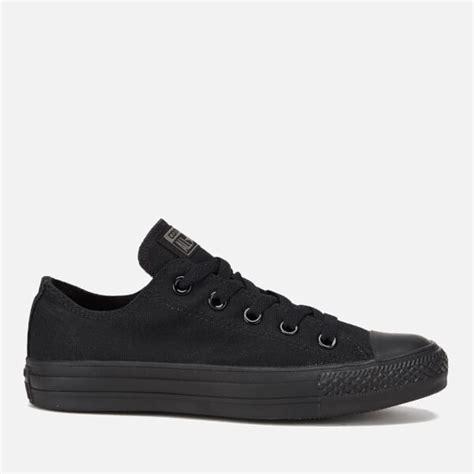 Converse Ox Canvas converse chuck all ox canvas trainers black