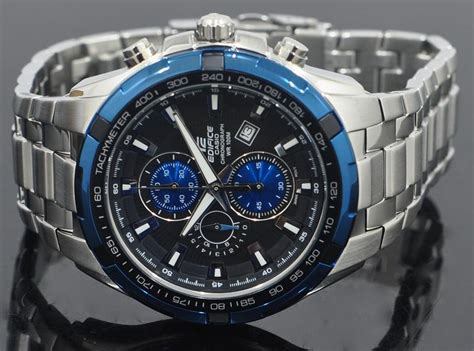Terbaru Casio Edifice Ef 539 Combinasi Stainless Steel Termurah casio s ef539d 1a2 edifice stainless steel analog black chronograph wat in india