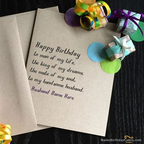 Happy Birthday Cards Write Name 1000 Images About Birthday Name Cards For Husband On