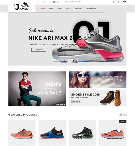 best free ecommerce themes 44 best ecommerce themes of 2017 modern wp themes