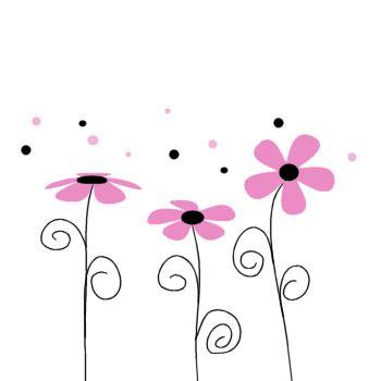 border bottom color pink floral border clip pink floral border image