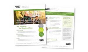 print business datasheets for marketing printfirm
