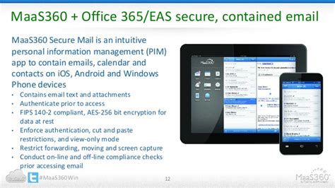 Microsoft Office 360 Maaster Office 365 Management With Maas360