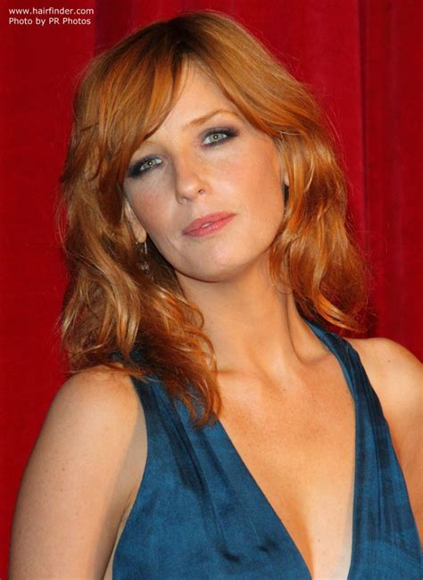 Kelly Reilly   Long layered hairstyle that brings all focus to the eyes