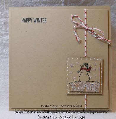 stamps well with others: happy winter