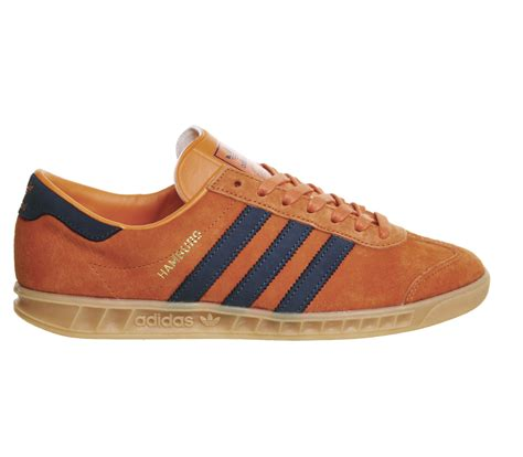 Adidas Hamburg Orange adidas hamburg orange gum his trainers bfjccdl
