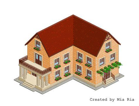 Single Family Home Floor Plans pixel art isometric house 12 by mimimiaart on deviantart