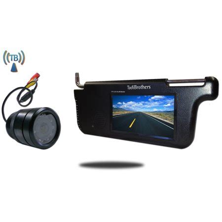 tadibrothers 7 inch visor monitor and a wireless 150