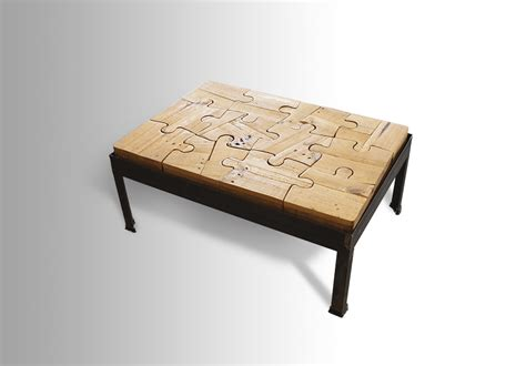 Puzzle Coffee Table Puzzled Coffee Table Ari Shomron Designs