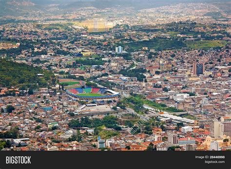 Hn Hn Hn tegucigalpa honduras aerial view image photo bigstock