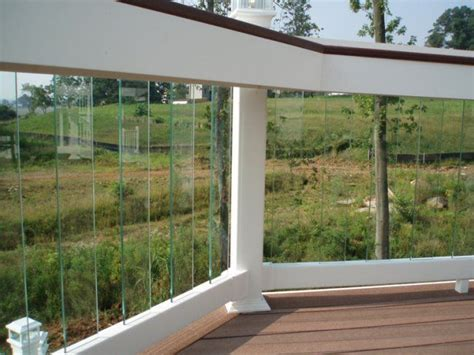 Glass Patio Railing Systems by Glass Deck Rail System Next House I Will