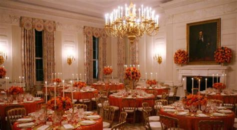 white house dining room inside the white house abode
