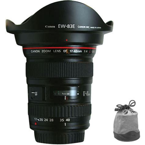 Canon Ef17 40mm F4l Usm canon 17 40mm canon f 4f4l usm lens 163 562