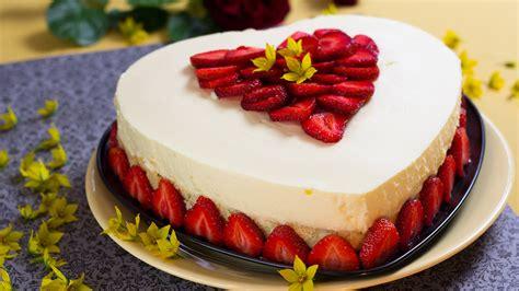 bilder kuchen torten kuchen ohne backen erdbeer kokos verpoorten torte