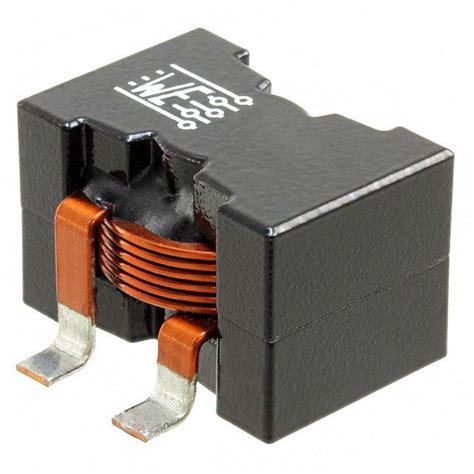 inductor as transformer 7443641000 wurth electronics inc induktoren spulen drosseln digikey