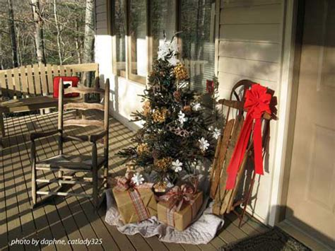 christmas porch decorating ideas outdoor christmas decorating ideas for an amazing porch