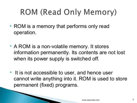 ram is a permanent storage location memory