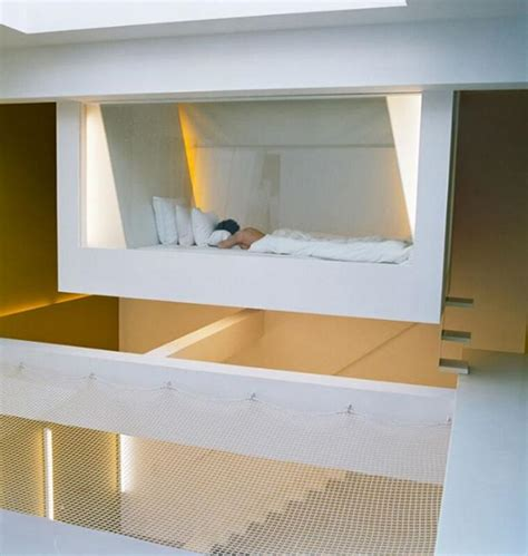 suspended bed ceiling suspended loft beds interior designs
