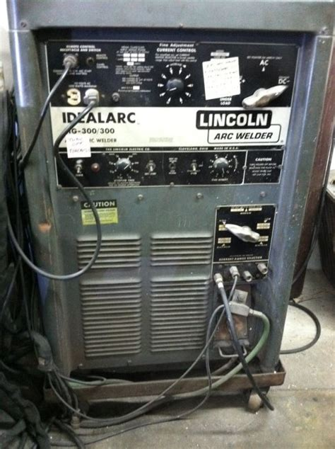 lincoln tig welders lincoln idealarc 300 tig welder manual