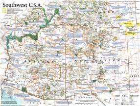 four corners map 1992 flickr photo