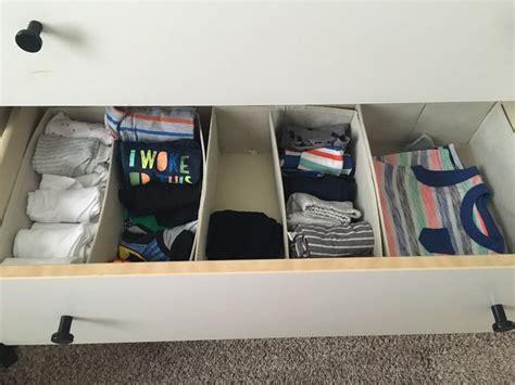 17 best ideas about organizing baby dresser on