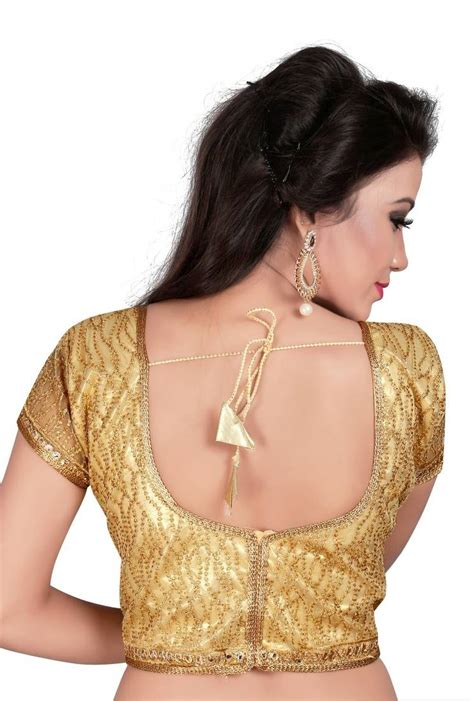 Febrita 2 Blouse By Alila Cloth buy gold cotton embroidered blouse fabric