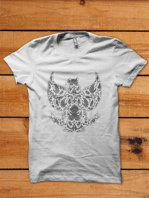 Kaos Grafity Black White 100 indonesia shop