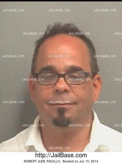 Pbso Arrest Records Robert Jude Pacillo Arrest History