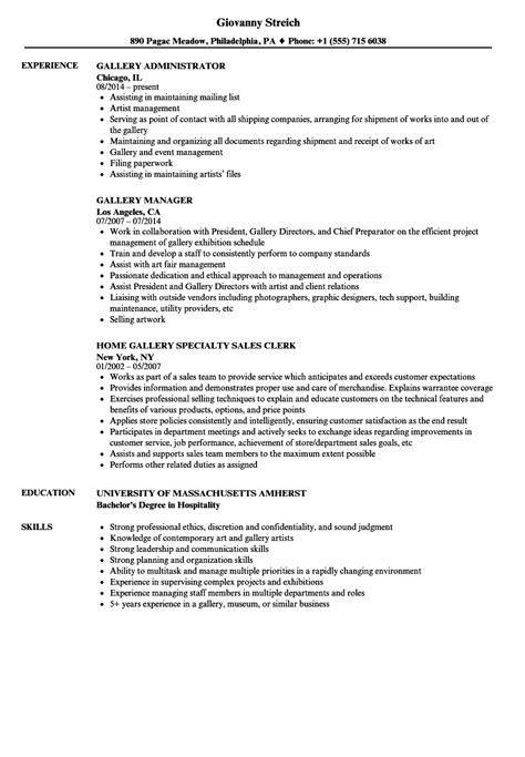 Museum Registrar Cover Letter by Museum Registrar Sle Resume Contractor Template Word