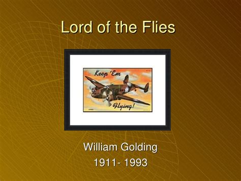 lord of the flies themes slideshare lotf ppt