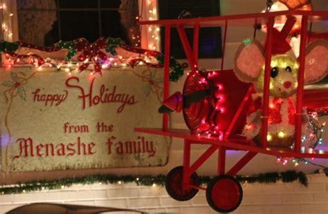 West Seattle Blog West Seattle Holidays Menashe Family Menashe Lights